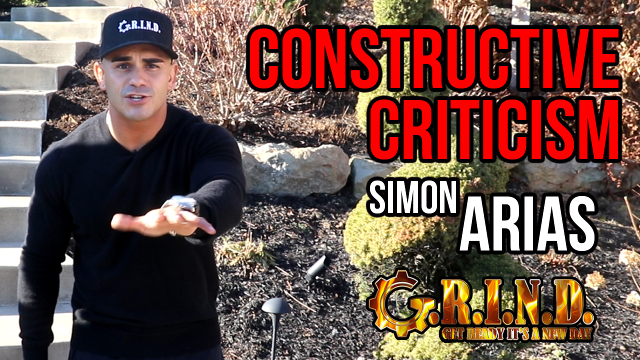 """Constructive Criticism"" With Simon Arias"